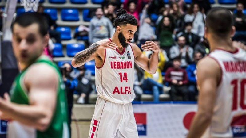لبنان يهزم العراق في تصفيات كأس آسيا لكرة السلة