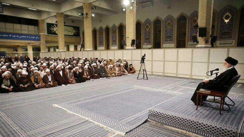 الإمام الخامنئي يشكر الشعب الايراني على حضوره في الانتخابات