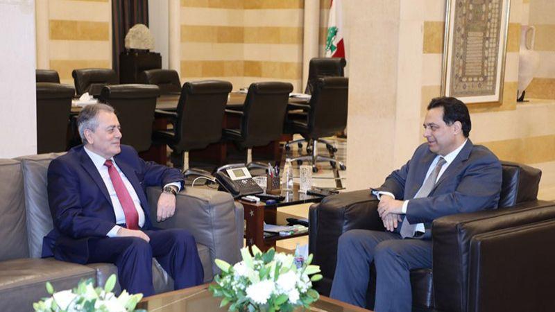 السفير السوري من السراي الحكومي: لرفع الحصار المؤذي للبنان وسوريا معًا