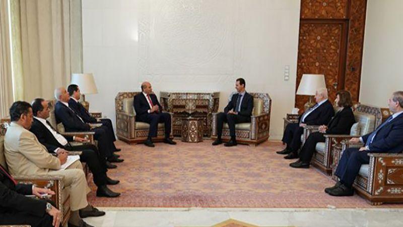 الأسد: الحرب ضد الإرهاب ليست معركة سوريا وليبيا فقط