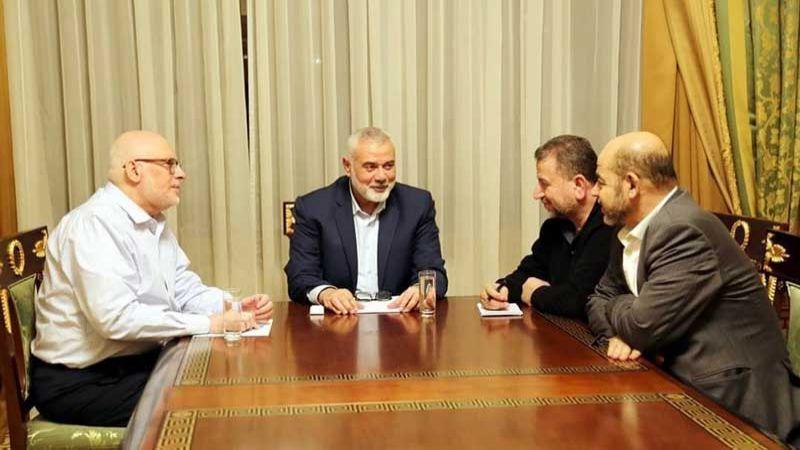 وفد من حماس يزور موسكو.. وصفقة القرن الطبق الرئيسي
