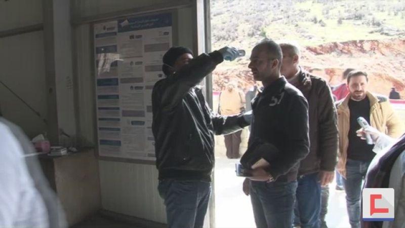 """إجراءات الوقاية من """"كورونا"""" على المصنع ـ بالفيديو"""