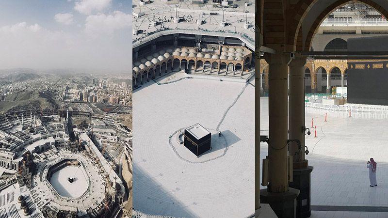 الحرمان الشريفان خاليان من الزوار.. مشهدٌ يعتصر قلوب المسلمين