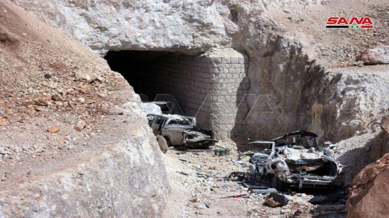 """بالصور: الجيش السوري يعثر على مقر زعيم """"النصرة """" في منطقة عنجارة بريف حلب الغربي"""