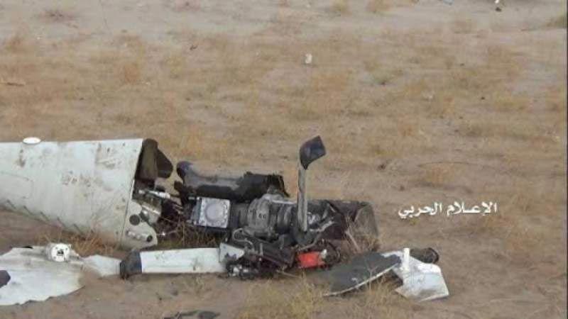 اليمن: إسقاط طائرة تجسسية لقوى العدوان في الحديدة