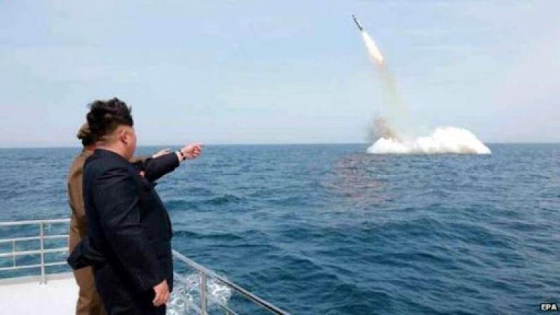 كوريا الشمالية تُطلق صاروخيْن باتجاه بحر اليابان