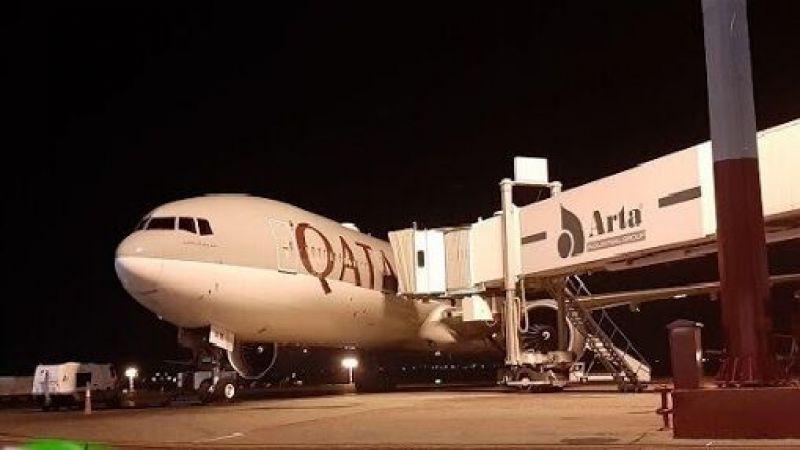 شُحنة ثانية من المساعدات القطرية الصحية تصل الى ايران