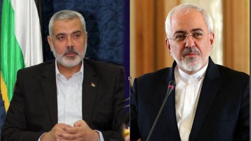 هنية مهاتفا ظريف.. العقوبات الأميركية ضد الشعب الإيراني ظالمة ويجب رفعها