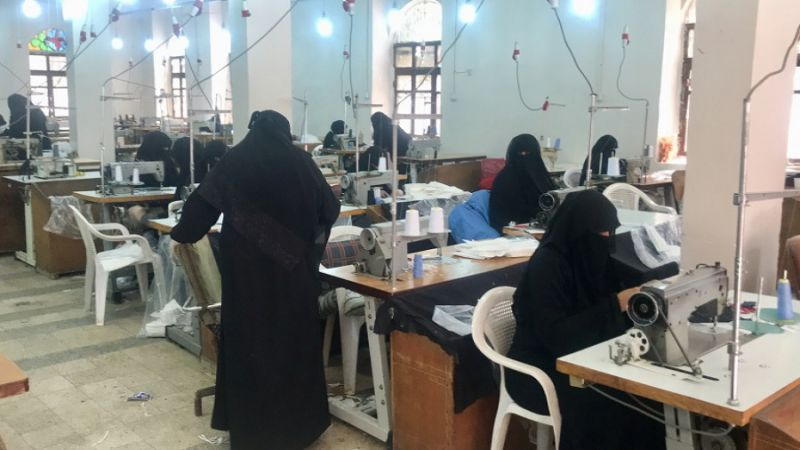 """رغم الحصار.. اليمن يصنّع كمامات طبية لمكافحة """"كورونا"""""""