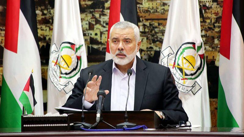 هنية: نصف مليون دولار إغاثة عاجلة للمخيمات والتجمعات الفلسطينية