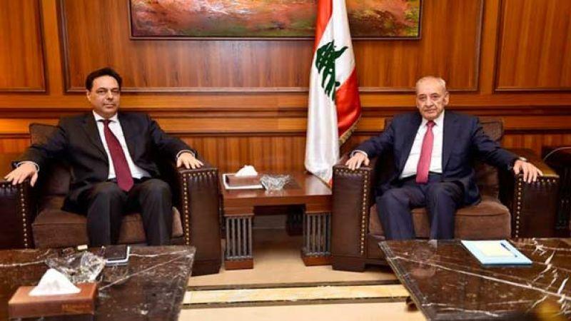 بري التقى دياب: لوجوب أن تبادر الحكومة لتأمين كل مستلزمات الرعاية والحماية للبنانيين المغتربين كما المقيمين