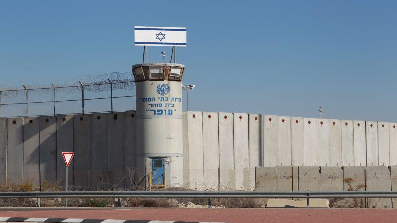 """أسيرٌ فلسطيني في سجن """"نفحة"""" يحرق غرفة سجانين"""