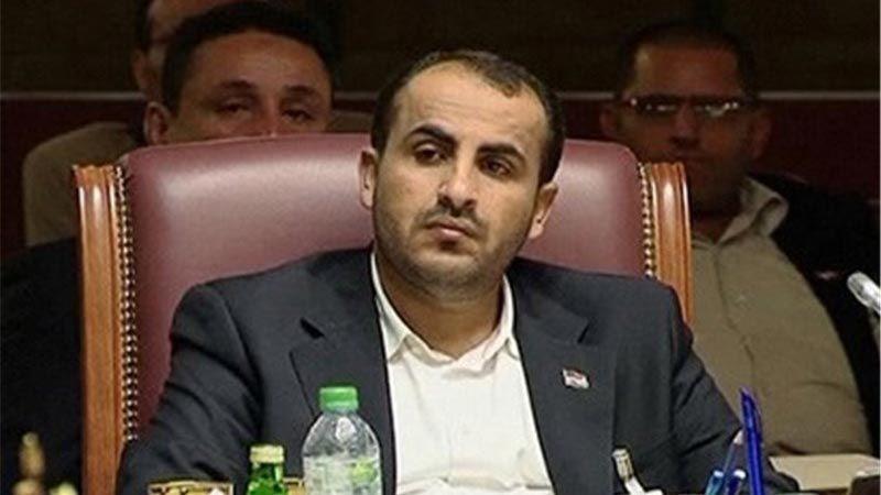 رئيس الوفد الوطني اليمني: أيّ حل سياسي لن يتحقّق قبل وقف العدوان ورفع الحصار