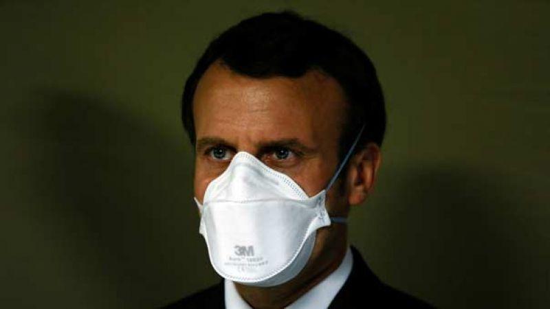 ماكرون يعلن إطلاق عملية للجيش الفرنسي في إطار إجراءات مكافحة فيروس كورونا