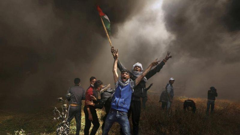 أمن غزة يعتقل عملاء كُلّفوا بمراقبة مسيرات العودة