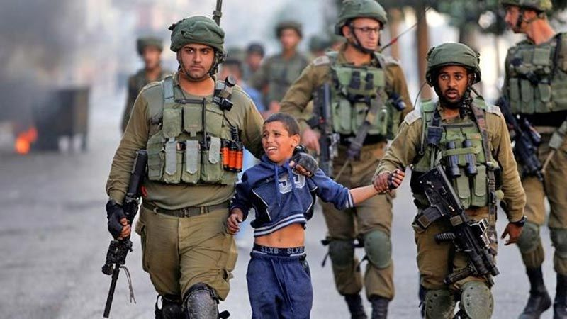 200 طفل فلسطيني معتقل!