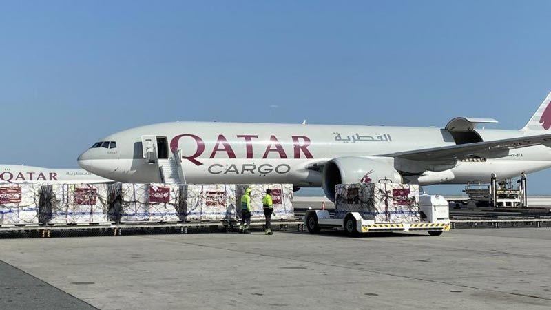 مساعدات طبية من قطر إلى إيطاليا