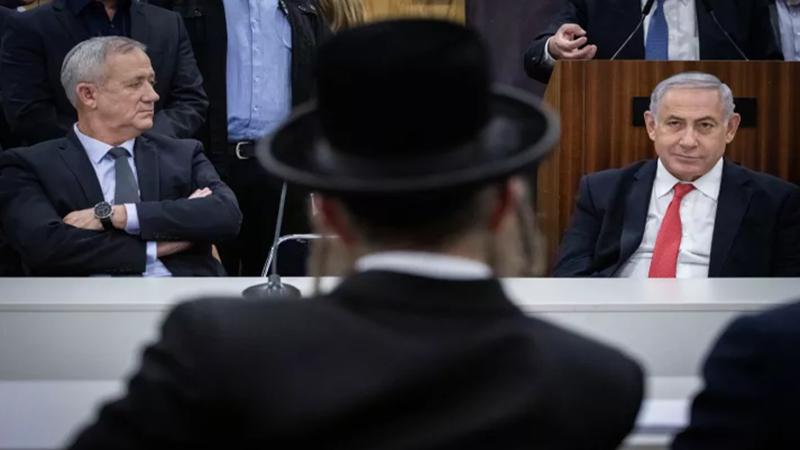 أزمة حكومة العدو الى الحلحلة بعد عيد الفصح اليهودي