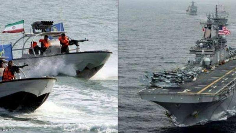 الجيش الأميركي يزعم أن 11 زورقا إيرانيًا تقترب من سفن أميركية في الخليج