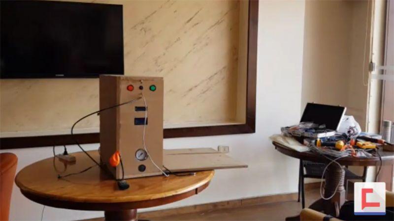 الإبداع اللبناني في مواجهة كورونا .. جهاز تنفس بجهود ذاتية