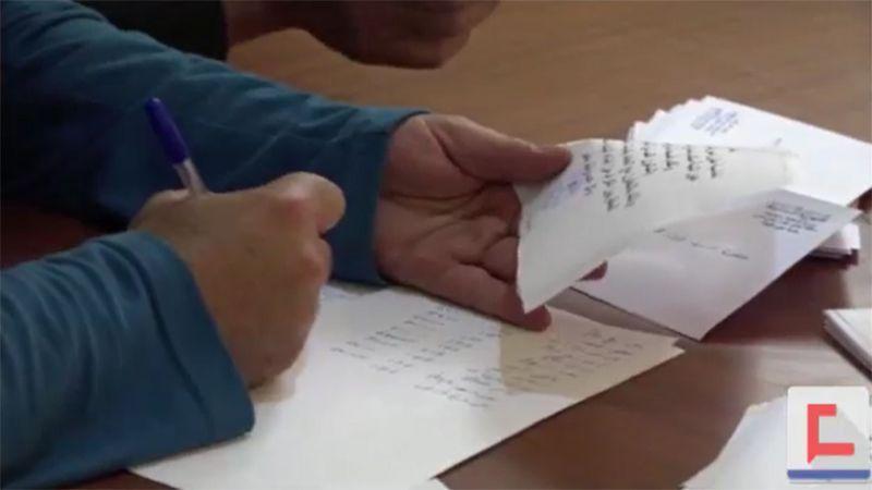 مشروع المساعدات في بلدة عين التينة في البقاع الغربي