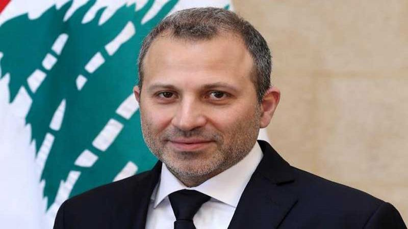 باسيل: للاسراع بإقرار خطة الحكومة الاقتصادية.. على اللبنانيين الخيار بين الخلاص والهلاك
