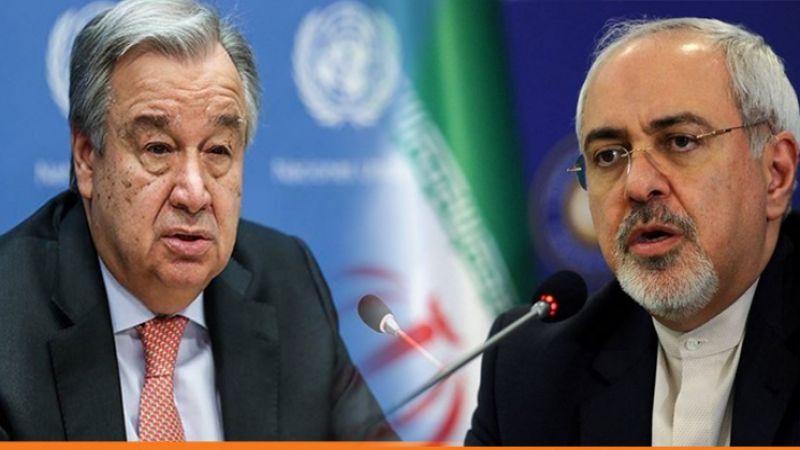ظريف وغوتيريش يؤكدان على اغاثة الشعب اليمني