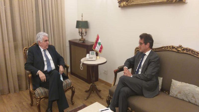 وزير الخارجية للسفير الألماني: حزب الله مكوّن أساسي في لبنان