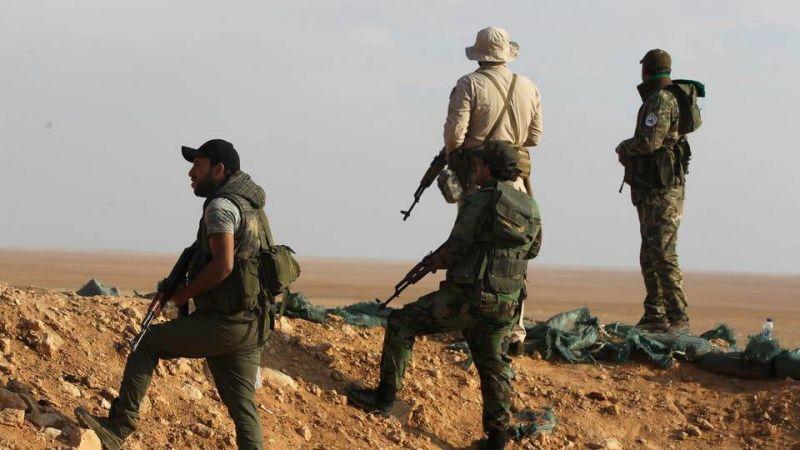 """الحشد الشعبي يصدّ تسلّلا لـ""""داعش"""" قرب سجن الامام الهادي (ع) في سامراء"""