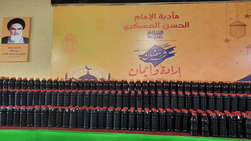 بالفيديو ... افتتاح المطبخ الرابع لمائدة الامام زين العابدين عليه السلام في منطقة الجاموس