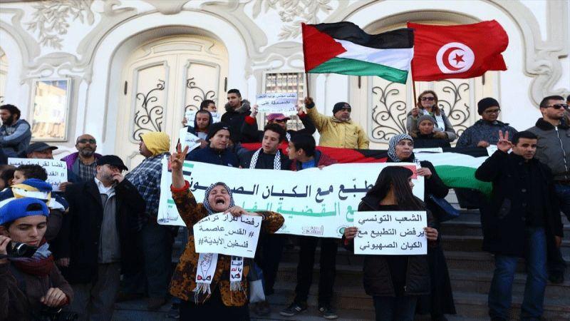 """الناطق باسم """"التيار الشعبي"""" في تونس لـ""""العهد"""": مقاومة التطبيع لا تقل أهمية عن المقاومة المسلحة"""