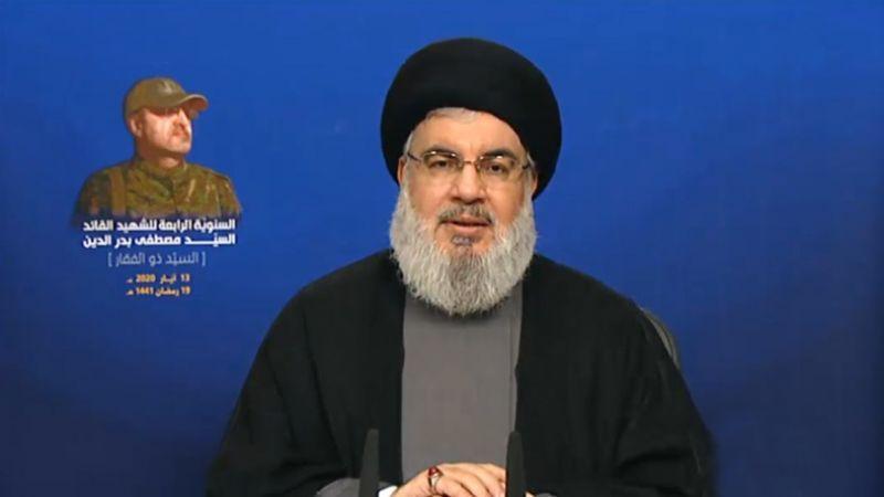 كلمة السيد نصر الله بمناسبة الذكرى السنوية الرابعة لاستشهاد القائد الجهادي الكبير السيد مصطفى بدر الدين 13-5-2020