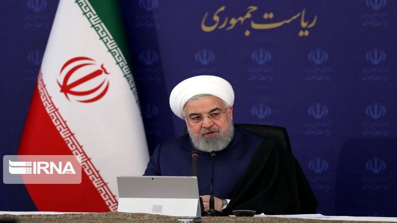 روحاني: الإدارة الأمريكية عاجزة ووصلت الى مستوى إرهاب غير مسبوق