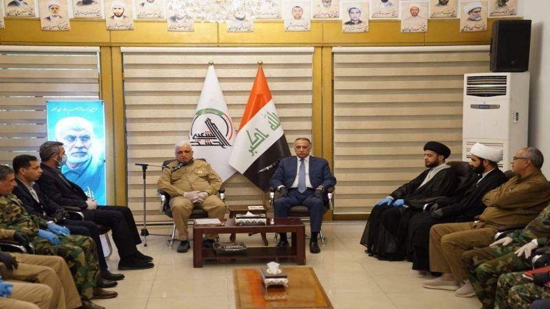"""الكاظمي في مقر الحشد الشعبي: العراق مقبل على صولة نهائية لإجتثاث """"داعش"""""""