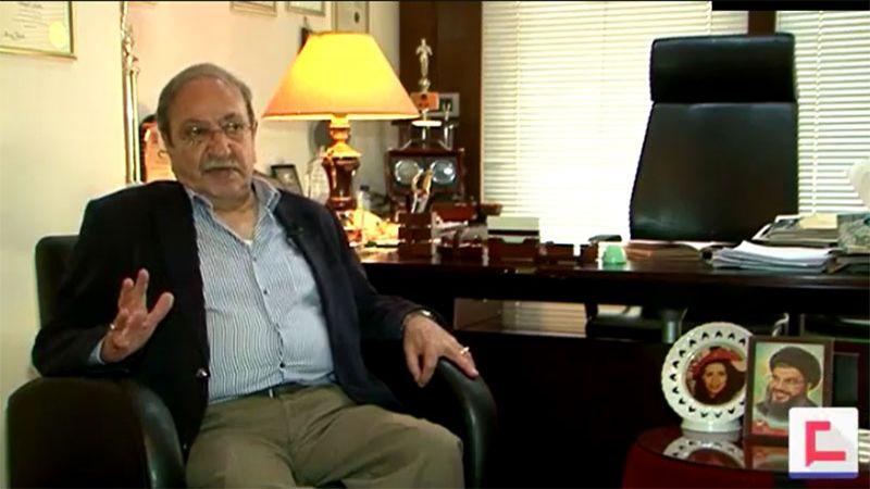 """الفنان دريد لحام يتحدث لـ""""العهد"""" عن لقائه بالقائد عماد مغنية.. و""""كاسك يا وطن"""""""