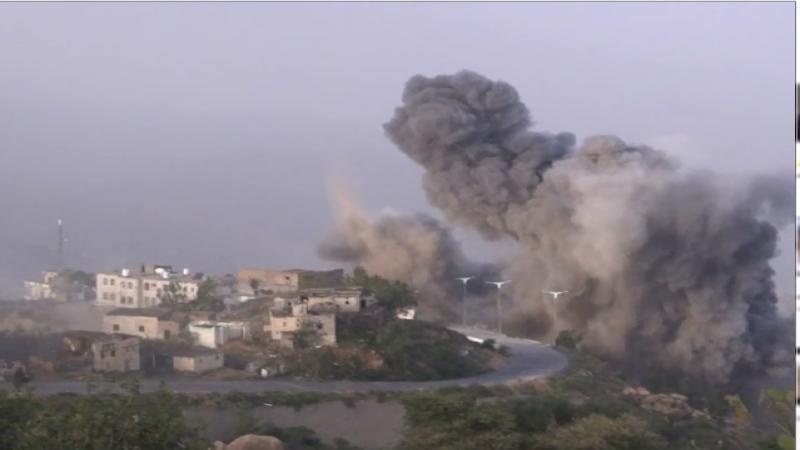 استشهادُ 3 مواطنين يمنيين بغارات العدوان على صعدة وسريع يتوعد