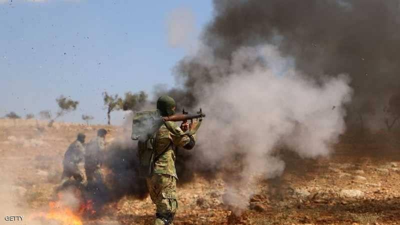 مقتل العشرات من الفصائل المسلحة جراء اتساع الاقتتال بينهم بريفي حلب وإدلب