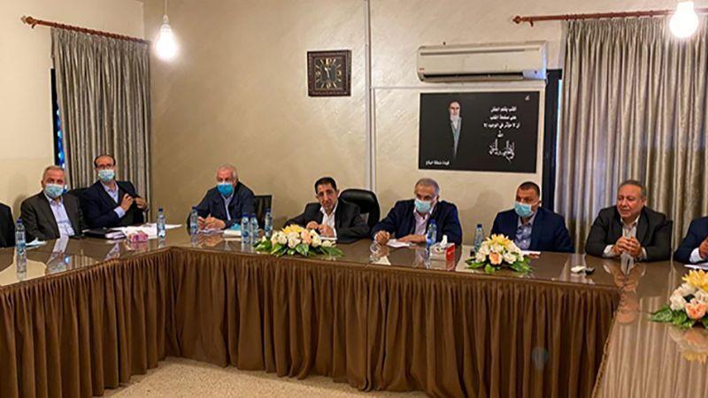 تكتل بعلبك الهرمل ناقش قانون العفو العام مع أعضاء لجنة العفو العام قبل عرضه في الجلسة النيابية العامة