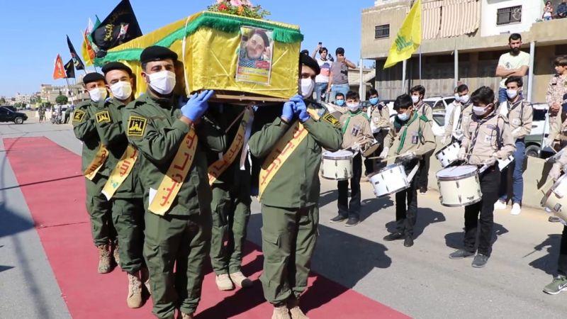 حزب الله يشيع الشهيد النمر في بعلبك بعد استعادة جثمانه الطاهر
