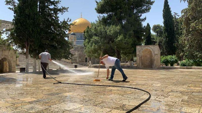 أبواب المسجد الأقصى ستفتح الأحد المقبل
