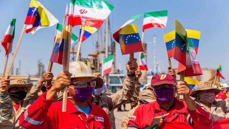 مزيدٌ من الدعم النفطي الايراني الى فنزويلا