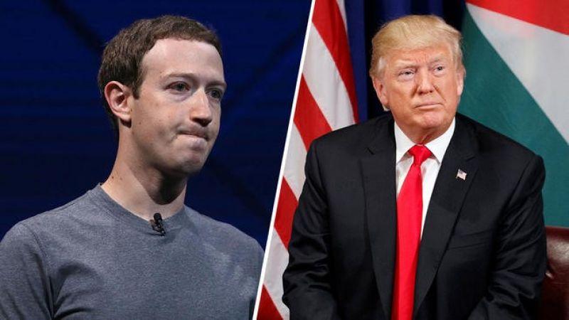 """ترامب يُهدّد بإغلاق """"تويتر"""" و""""فايسبوك"""" وزوكربرغ يردّ"""