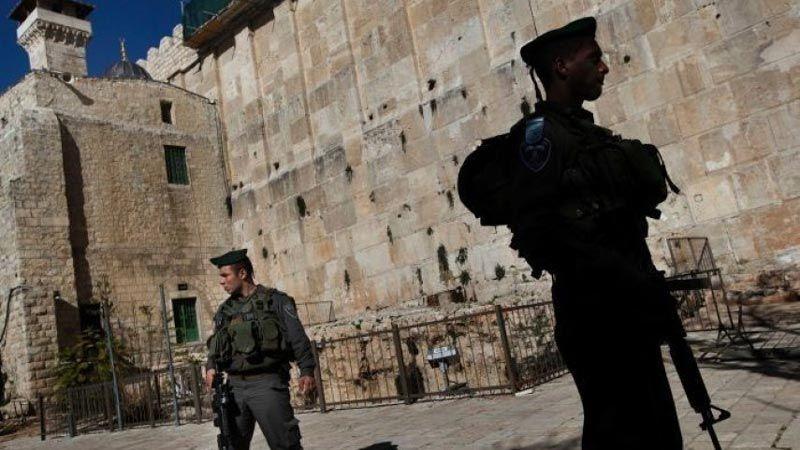 الاحتلال يمنع لجنة إعمار الخليل من استكمال ترميم الحرم الابراهيمي