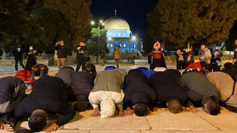 أبواب المسجد الأقصى تفتح بعد 70 يوما من الاقفال