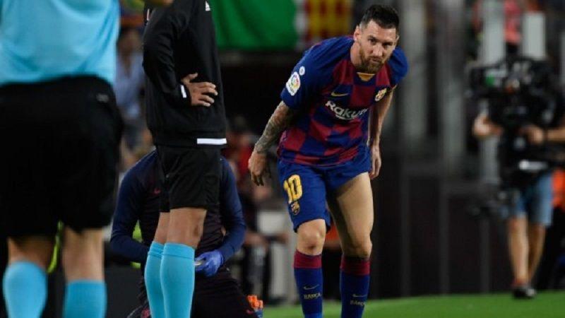 هل يغادر ميسي برشلونة؟