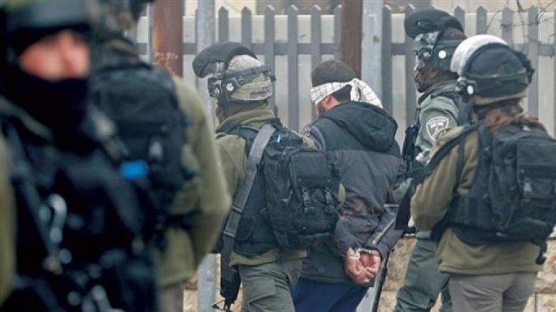 قوات الاحتلال تعتقل 15 فلسطينيا بالضفة الغربية