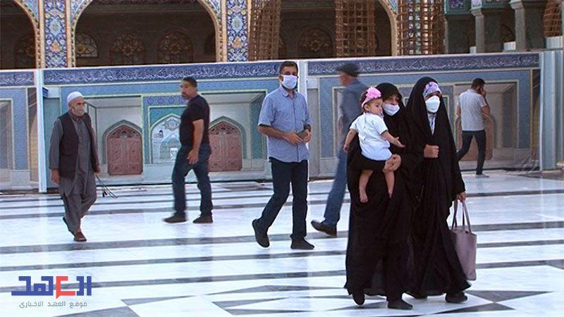 """""""العهد"""" أوّل الحاضرين مع عودة مقام السيدة زينب(ع) لاستقبال الزائرين"""