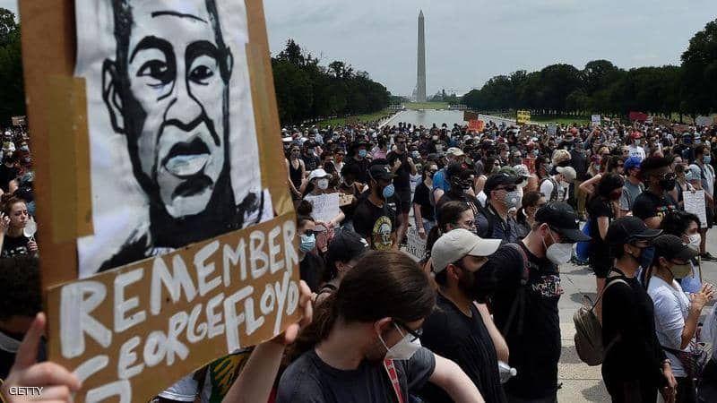 """واشنطن تستعد لمظاهرة """"مليونية"""" ضد العنصرية"""