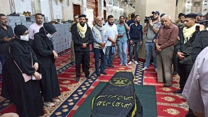 """""""الجهاد"""" تُشيّع جثمان القائد الكبير رمضان شلح في مخيم اليرموك بدمشق"""