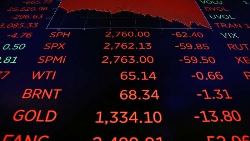 البورصات العالمية تتراجع بعد توقعات اقتصادية سلبية
